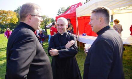 Dyrektor Caritas Polska w placówkach wrocławskiej Caritas