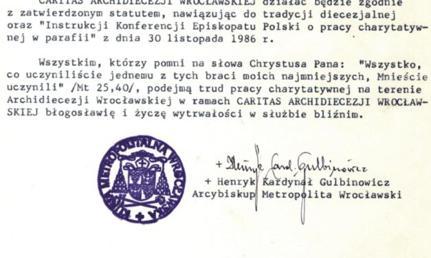 28 lat wrocławskiej Caritas