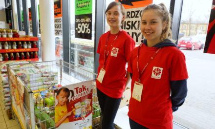Wolontariusze na zbiórkę żywności