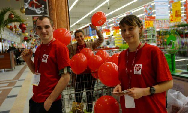 Już 8 grudnia rusza XIII Zbiórka Żywności Caritas TAK, POMAGAM!