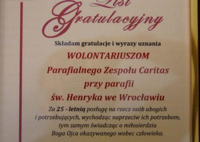 25 jubileusz PZCśw. Henryk