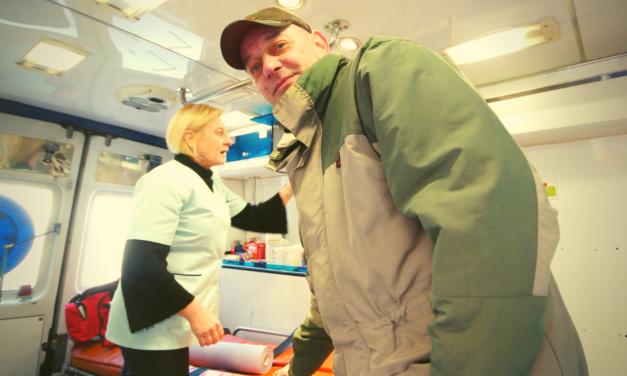 Ambulans dla podopiecznych łaźni Caritas