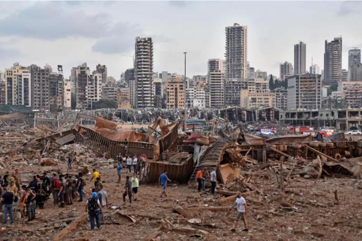 Tragedia w Bejrucie